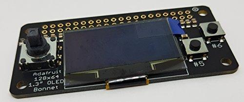 Adafruit 128×64 OLED Bonnet for Raspberry Pi