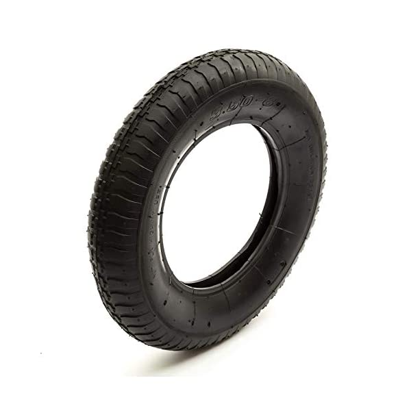 Chambre à air + pneu pour Brouette, Diable, Remorque 3,50 – 8