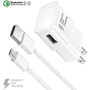 Amazon.com: Rapid USB Wall Charger Compatible Samsung Galaxy ...
