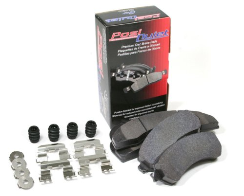 2010-2011 FORD F-150 PICKUP SVT RAPTOR All Posi Quiet Ceramic Front and Rear Brake Pads by Centric