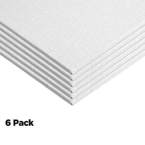 Panel Economy Pack - Centurion Deluxe Oil Primed Linen Panel 6-Pack 8x10