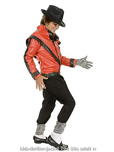 Charades Michael Jackson Thriller Children's Costume Jacket, -