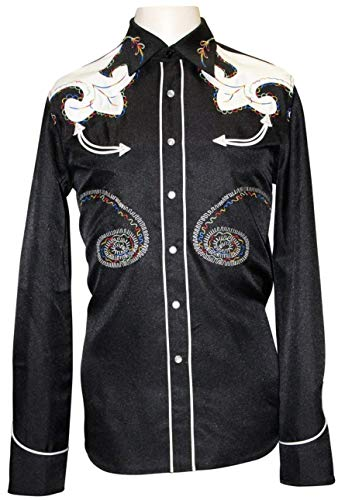 HBarC/H Bar C - Embroidered Western Shirt - The Arrowhead for sale  Delivered anywhere in USA