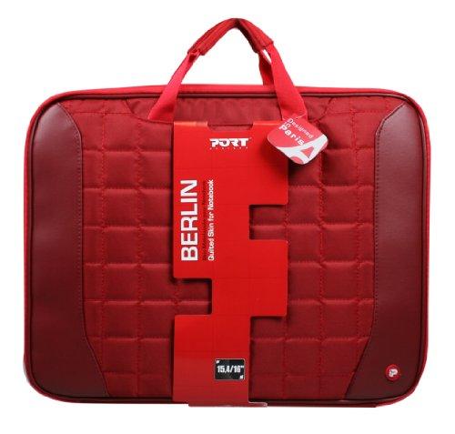 Port Berlin Skin Notebook Schutzhülle 40,6 cm (16 Zoll) rot
