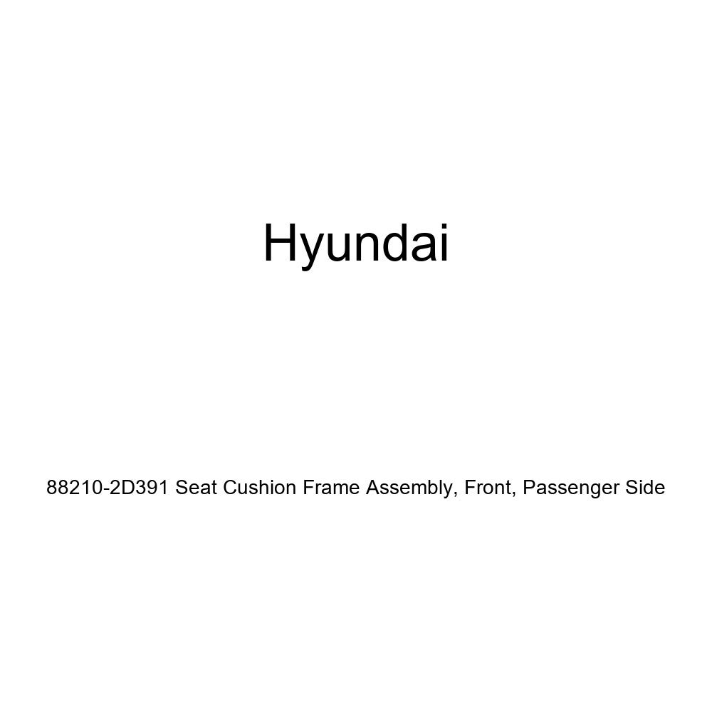 Front Passenger Side Genuine Hyundai 88210-2D391 Seat Cushion Frame Assembly