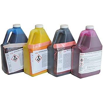 Amazon.com: Tinta blanca DTG Tinta textil Dupont para ...