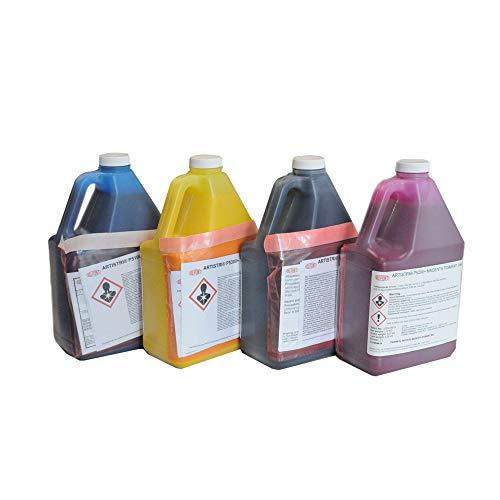 DTG Ink Dupont Textile Ink ARTISTRI CMYK Textile Ink for Direct to Garment Printers Ink(2L / Bottle/Color)
