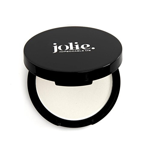 Jolie Invisible Pressed Blotting Oil Absorbing Mattifying Powder w/ Puff - No Color