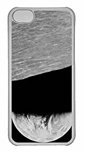 iPhone 5C Case, Personalized Custom View Of Earth From Moon for iPhone 5C PC Clear Case by mcsharks