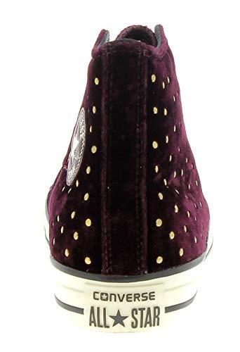 35 Burdeos Zapatillas Deporte De Mujer 558992c Converse 1AqXSYX