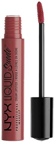 NYX Professional Makeup Rossetto Tinta Labbra Liquid Suede Cream, Spoken
