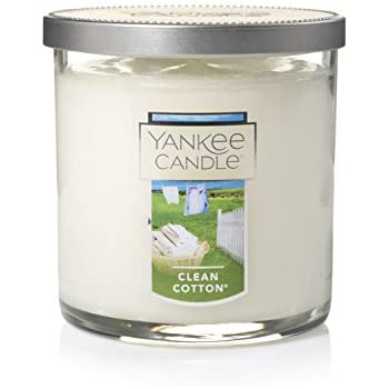 Yankee Candle Small Tumbler Candle, Clean Cotton