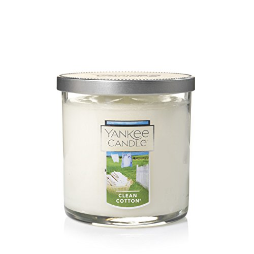 - Yankee Candle Small Tumbler Candle, Clean Cotton