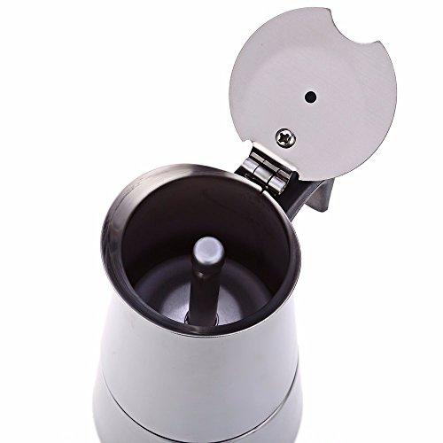 how to make a caffe latte with a moka pot