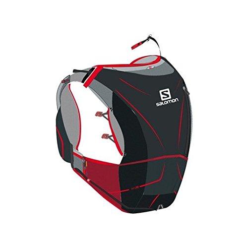 Salomon S-Lab Advanced Skin 3 12 Set Racing Vest (XL) - ALUMINIUM/BLACK/RACING RED