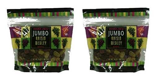 Trader Joe's Jumbo Raisin Medley 16 oz. (Pack of 2)