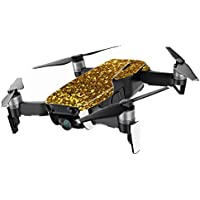 MightySkins Skin for DJI Mavic Air Drone - Gold Dazzle | Min Coverage Protective, Durable, and Unique Vinyl Decal wrap cover | Easy To Apply, Remove, and Change Styles | Made in the USA