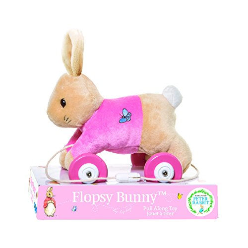 Beatrix Potter, Flopsy Pull-Along Plush