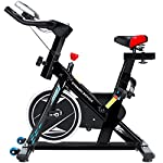 LJMG Spin Bike Ciclismo Muto Indoor Cyclette Home Pedal Bike Fitness Perdita di Peso Cyclette Palestra Bicicletta Multifunzione (Color : Black, Size : 109 * 48 * 108cm)
