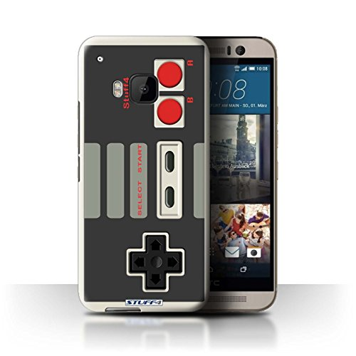 STUFF4 Phone Case / Cover for HTC One/1 M9 / Nintendo Classic Design / Games Console Collection
