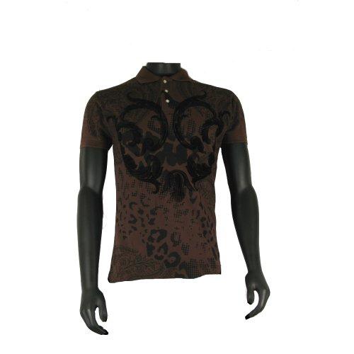Christian AudigierHerren Poloshirt Mehrfarbig Brown/Black