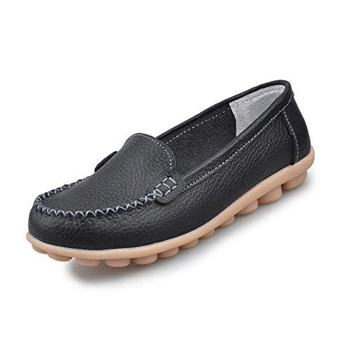 Casual Zapatos Flat punta disponibles Heel redonda Comfort On Exterior colores Planos Slip SHINIK de Do Más mujer de OwBdHqCH