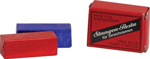 Herold Solingen Stagenpaste Solid Double Paste for Razor Strops Red Paste