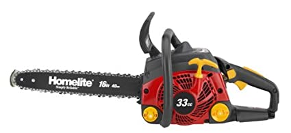 Amazon factory reconditioned homelite zr10926 16 inch 33cc factory reconditioned homelite zr10926 16 inch 33cc ranger gas powered antivibration chain saw greentooth