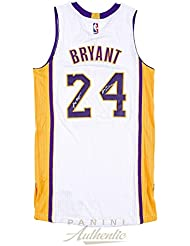 Kobe Bryant Autographed White Authentic Lakers Jersey with