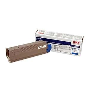 Oki Cyan Toner Cartridge, 6000 Yield (43487735)