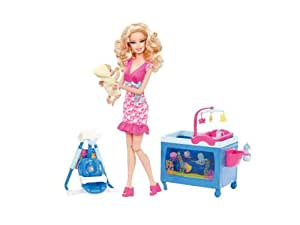 Barbie I Can Be Baby Caregiver Doll Playset Playsets