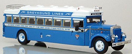 - Iconic Replicas Greyhound Bus Lines 1931 BK Parlor Coach - Corgi Quality 1:50 Scale