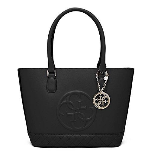 Guess Women's Korry Classic Black Satchel Handbag