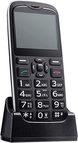 ISHEEP [D210] 4G LTE Huge Button Senior Unlocked Cell Cellphone, SOS Button, Simple to Use