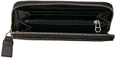 Liebeskind Berlin Women's Handwoven Leather Zip Around Wallet Wallet