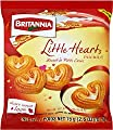 Britannia Little Hearts Biscuits - 75g., 2.6oz. (Pack of 4)