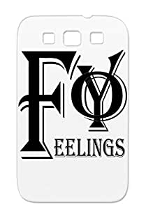White FYoFeelings Women Not Safe For Work FuckYoFeelings FYF For Sumsang Galaxy S3 Case Cover