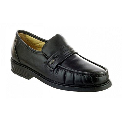 (Amblers Charles Mens Shoe/Mens Shoes/Slip-On Mens Shoes (13 US) (Black) )