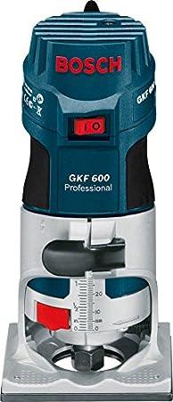 060160A171 600 wattsW Bosch Professional GKF 600/mit 110/V Palm Router