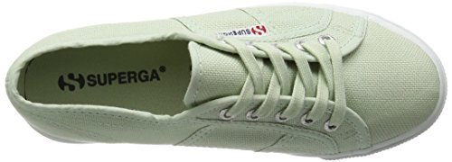 Superga 2790 Linea Updown Flatform Unisex-adult Sneaker Groen (936)