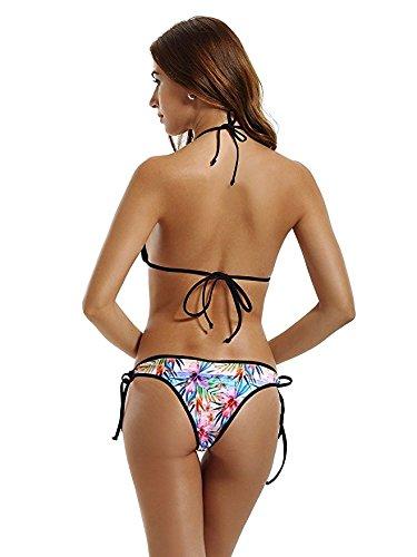 FDJKHY Personalized Women Bikini-I Love Yellow Swimsuit Beachwear by FDJKHY (Image #2)