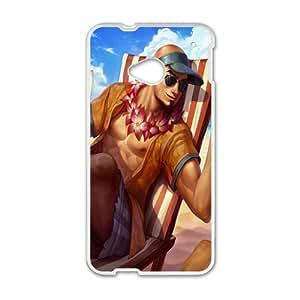 League Legends White HTC M8 case