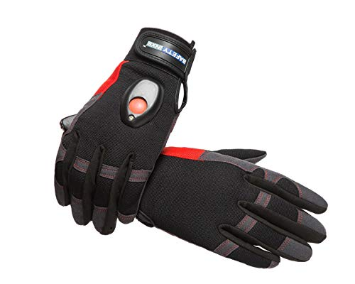 Mechanics Gloves With Led Lights in US - 3