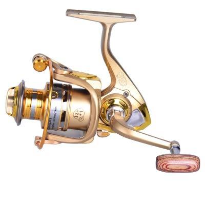 (Zizule Metal Spool Spinning Fishing Reel BF Fishing Gear for Freshwater Fishing Pesca)
