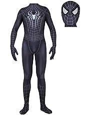 Kinderen Volwassen Superheld Spiderman Homecoming Halloween Carnaval Spider-Man Filmkostuum Rekwisieten Cosplay Kostuum, Spandex/Lycra