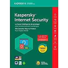 Kaspersky Internet Security 2018 10-User 1Yr
