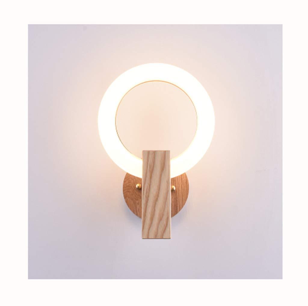 & Wandleuchten Wandleuchten einfache kreative LED Ring-förmigen Schlafzimmer Wohnzimmer Hotel Cafe Wandleuchte (Größe   20cm)