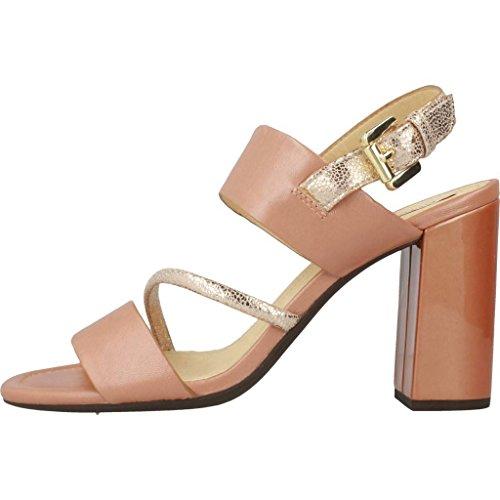GEOX Sandalias de vestir para mujer, color Rosa, marca, modelo Sandalias De Vestir Para Mujer D AUDALIES HIGH SAND Rosa