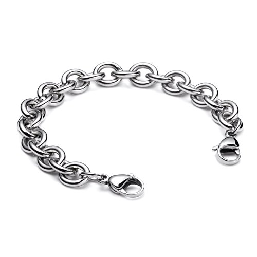 linnalove-Stainless Steel Cable Chain/lnterchangeable ()