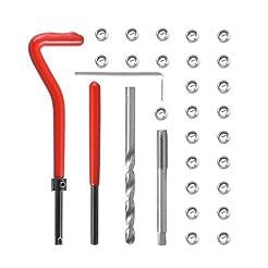 Rocaris 30 Pcs Thread Repair Kit, M6 x 1...